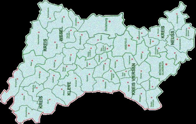 Karte Niederrhein.Kulturlöwe Niederrhein E V Mach Dich Stark Für Mönchengladbach